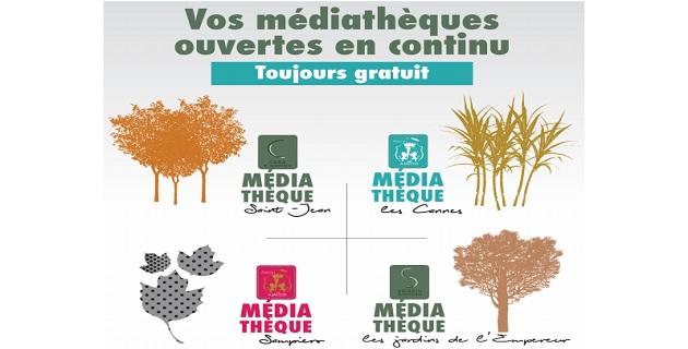 Extension des horaires du réseau des Médiathèques de la Ville Ajaccio