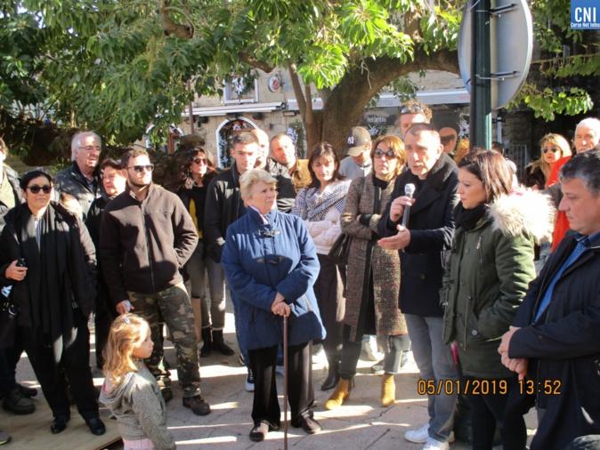 Le soutien de J.Christophe Angelini aux cmmerçants de Porto-Vecchio.