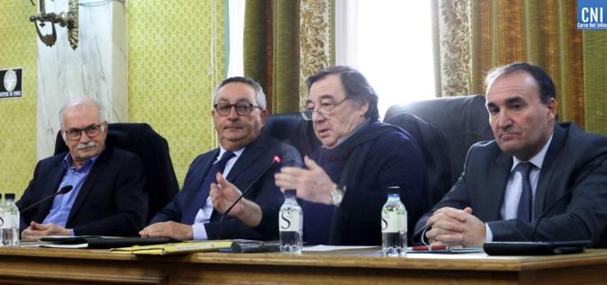 L'intervention de Jean Dal Colletto, Président de la Maison de la Corse de Marseille, fédération des groupements corses de Marseille et des Bouches-du-Rhône