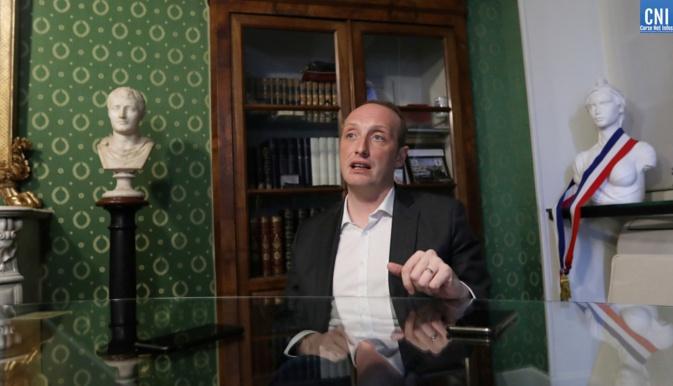 Ajaccio, les transformations, la politique, l'avenir, la vie… Tour d'horizon avec Laurent Marcangeli