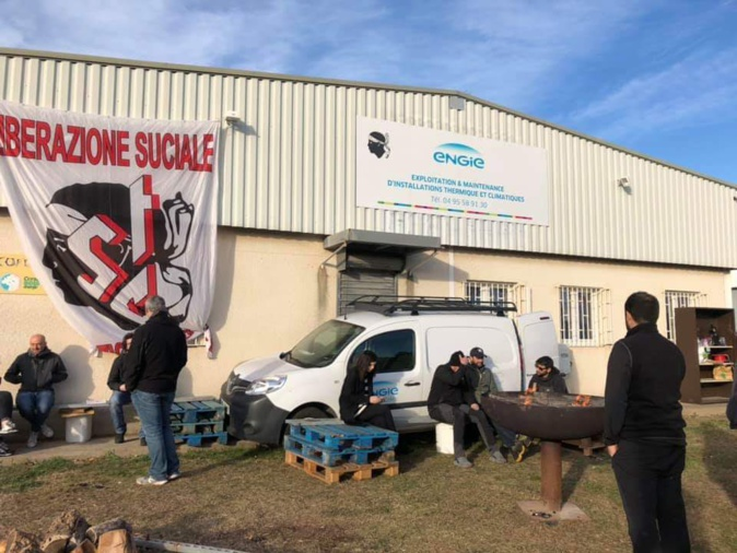 Agence Engie-Cofely de Corse  :   Le conflit se durcit