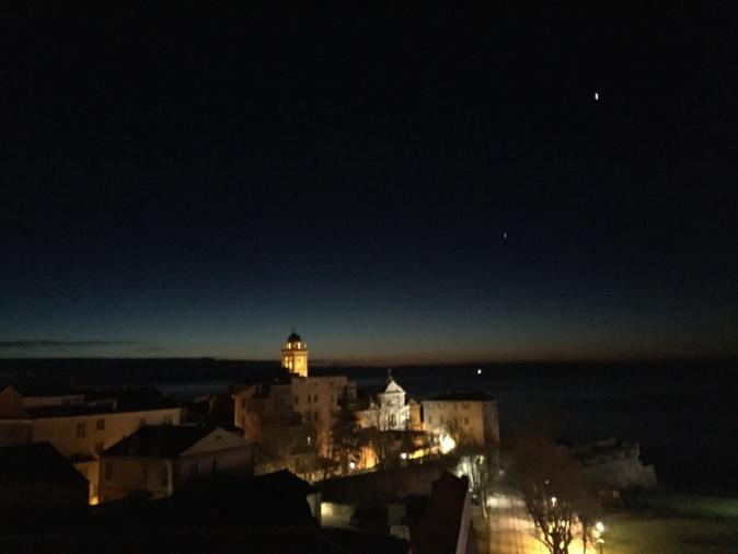 La photo du jour : L'heure bleue de Bastia