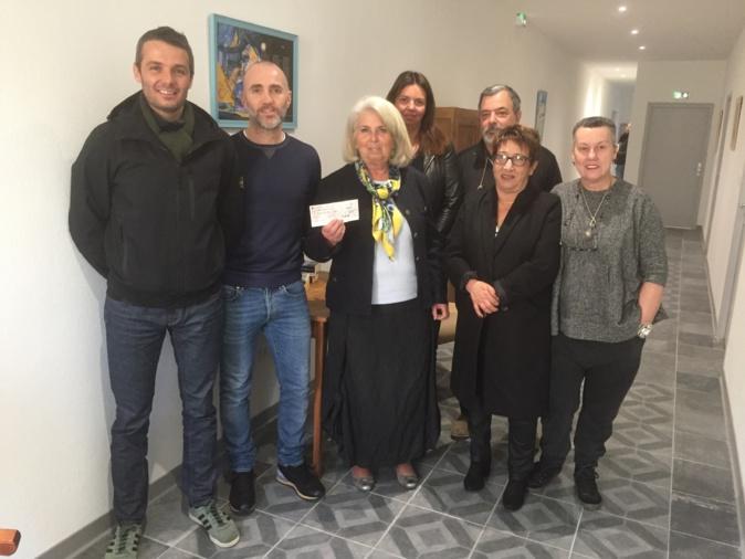 Les organisateurs de la Spassighjata ont remis un chèque de 7000 € à La Maison du Sacré Coeur