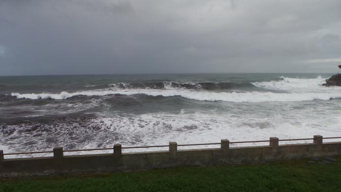 """La  Corse du Sud en vigilance jaune """"fortes vagues-submersion"""""""