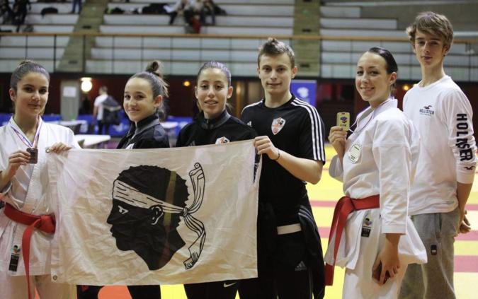 Karaté :  Laetitia Feracci 1ère dans la catégorie des espoirs (-21ans) à l'Open France