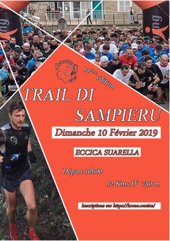 Inscriptions ouvertes pour le 11eme Trail di Sampieru