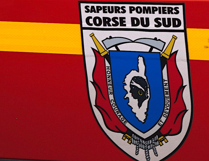 Incendie d'un chalet à Sant'Amanza