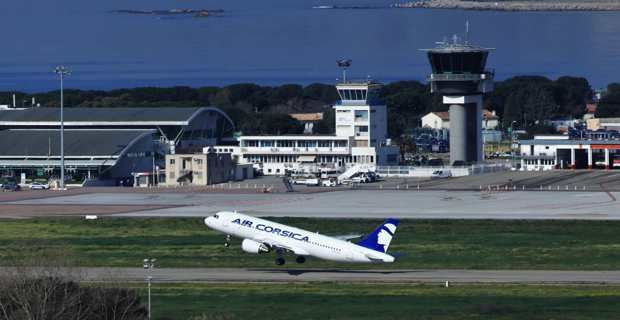 Aéroport d'Ajaccio (Photo Michel Luccioni).