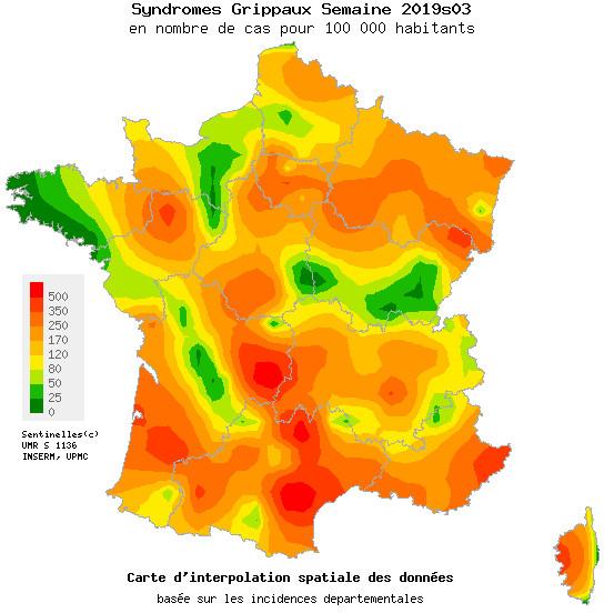 Santé :  La présence de la grippe en Corse se précise !