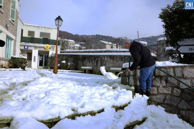 Neige : De Bastelica à Tolla