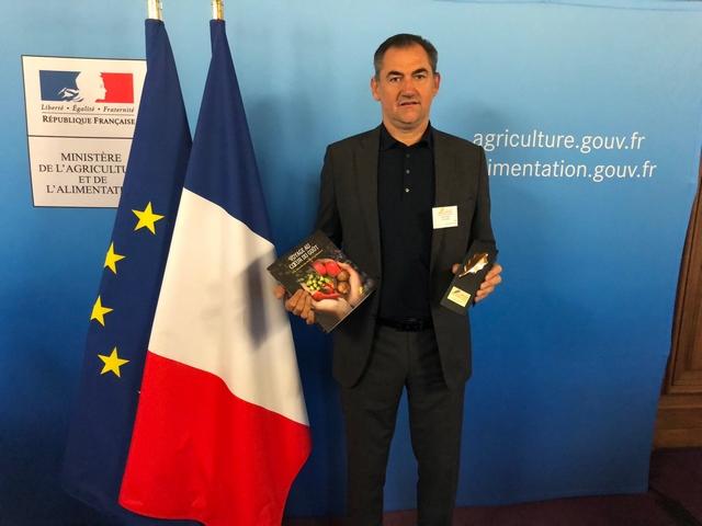 Etienne Suzzoni honoré à Paris (Photo DR)