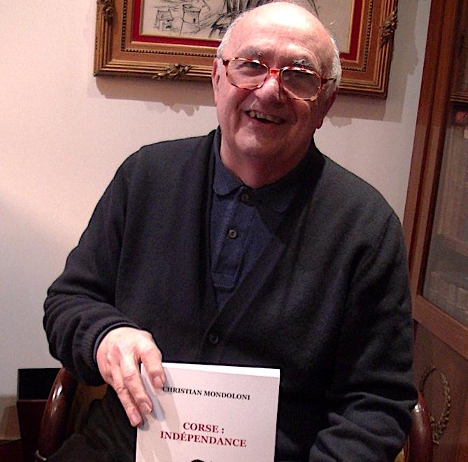 Rencontre avec Christian Mondoloni pour son livre « Corse : indépendance »