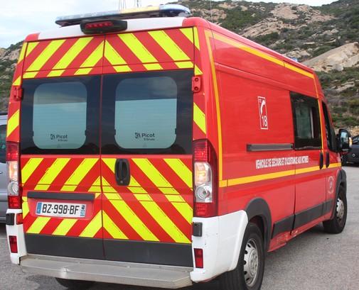 Un adolescent blessé dans un accident à Calvi