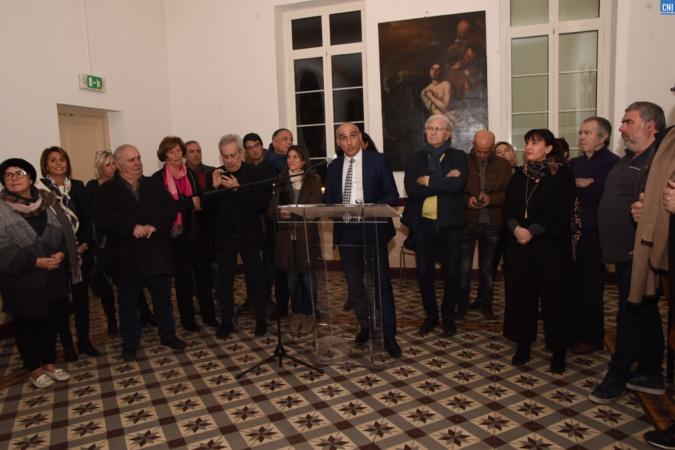 Communauté des communes de Calvi-Balagne : Les vœux du président François-Marie Marchetti