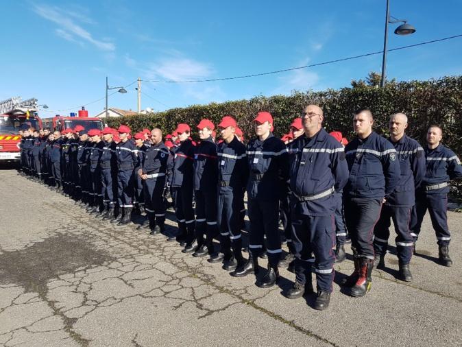 Ghisonaccia : grand rassemblement de cohésion pour 85 jeunes sapeurs-pompiers de Haute-Corse