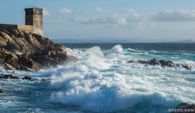 La photo du jour : Capu di Fenu battu par les flots