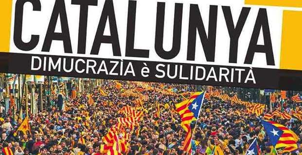 """L'Associu Sulidarità soutient ses """"frères de lutte catalans"""""""