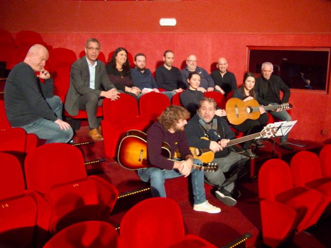 Pierre Savelli, maire de Bastia et Mattea Lacave, adjointe à la culture, ont donné carte blanche au Groupe A Filetta pour fêter les 40 ans du groupe