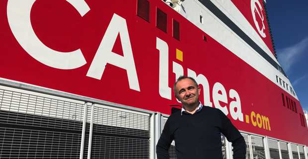Pierre-Antoine Villanova, directeur général de la compagnie maritime, Corsica Linea.