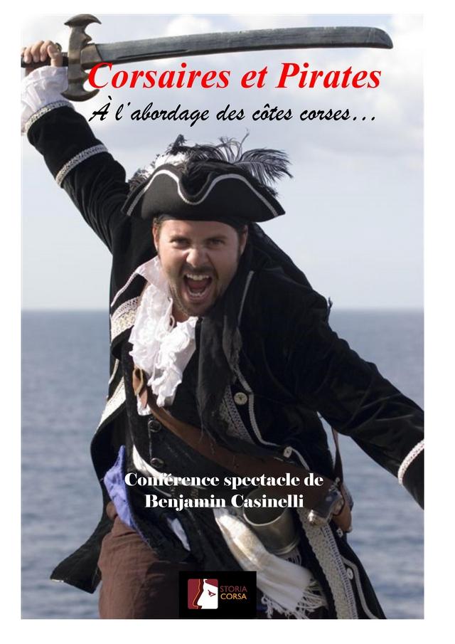 Conférence - spectacle de Benjamin Casinelli ce samedi 10 février à Calvi