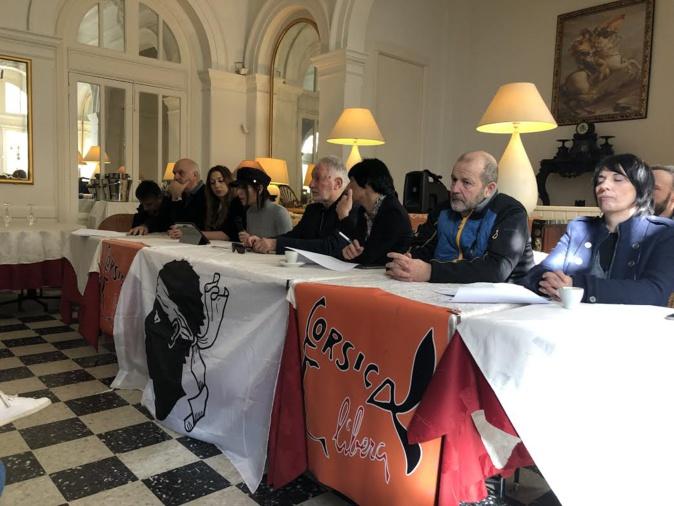 Corsica Libera chjama à maiurità territuriale à un rinforzu