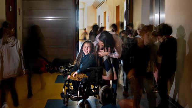 Photo / campagne de communication sur le handicap - Ville d'Ajaccio