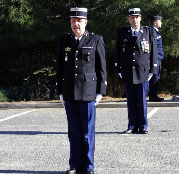 Prise de commandement du chef d'escadron Paulo De Carvalho