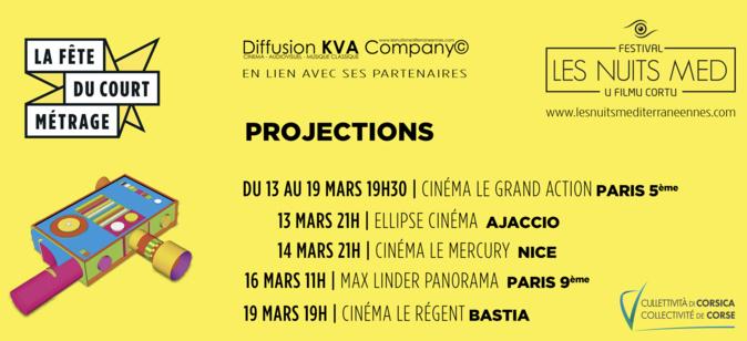 Le festival Les Nuits MED di u filmu cortu entre la Corse, Nice et Paris