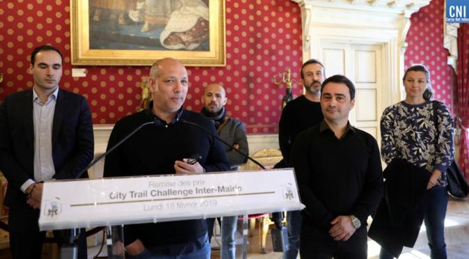 Les participant du City trail impérial reçus par la Ville d'Ajaccio