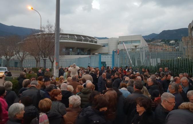 Rassemblement contre l'antisémitisme à Bastia