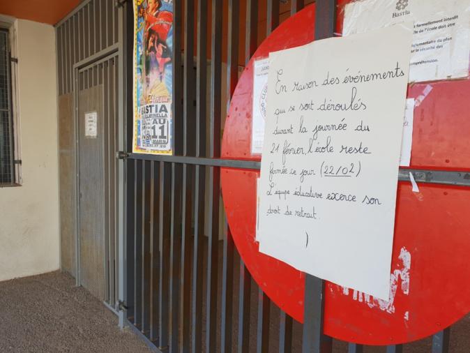 Agression de l'école Charles-Andrei : Un homme en garde à vue au commissariat de Bastia