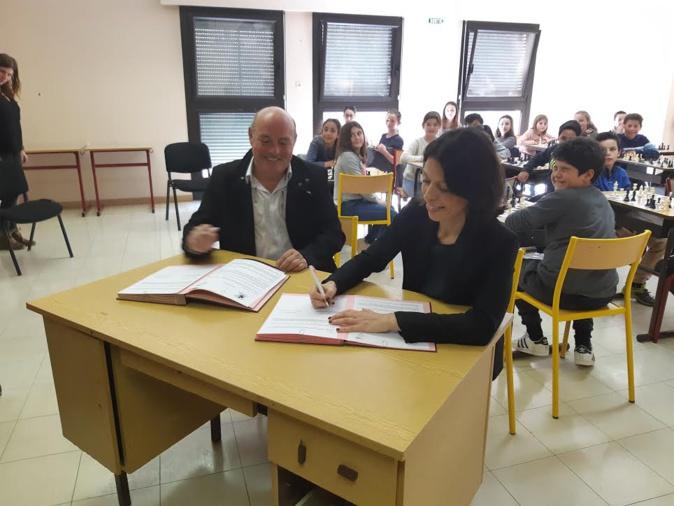 Une convention triennale signée entre le Rectorat de Corse et la Ligue Corse d'Echecs