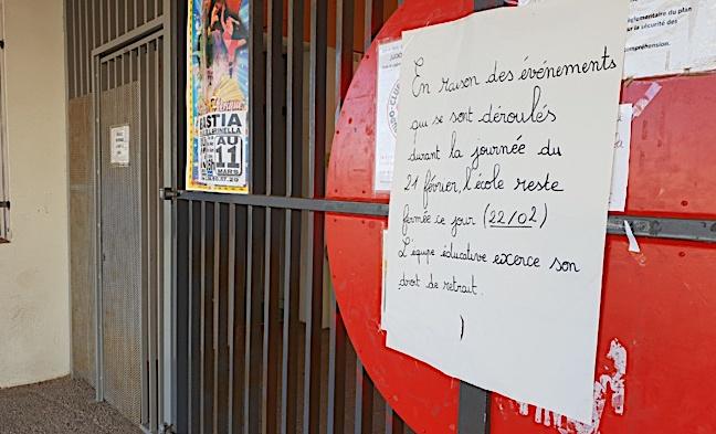 Agression de l'école Charles-Andrei : Un homme placé sous contrôle judiciaire