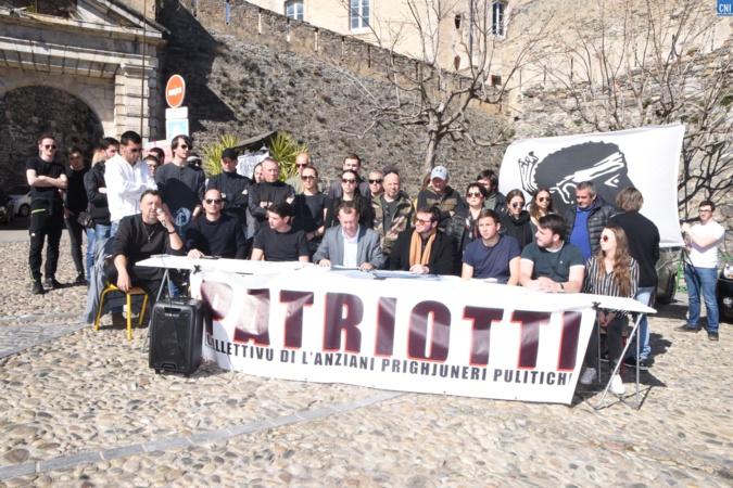 Cunferenza di stampa Cullettivu Patriotti è a Giuventù in lotta