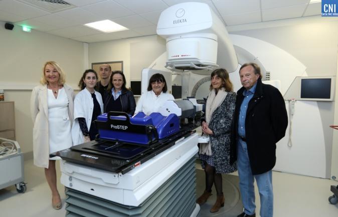 Une avancée importante en radiothérapie au CH Castelluccio