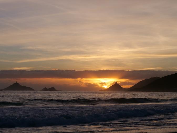 La Photo du jour : Lorsque le soleil se couche sur les Sanguinaires