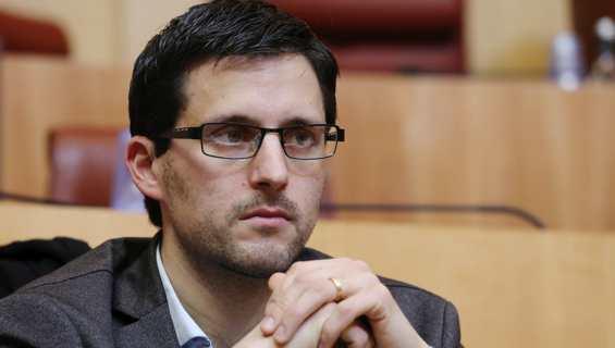 Petr'Anto Tomasi, président du groupe Corsica Libera à l'Assemblée de Corse. Photo Michel Luccioni.
