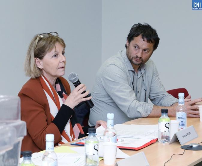 La préfète de Corse et Stéphane Paquet réélu à la présidence de la chambre d'agriculture de la Corse-du-Sud (Photo Michel Luccioni)