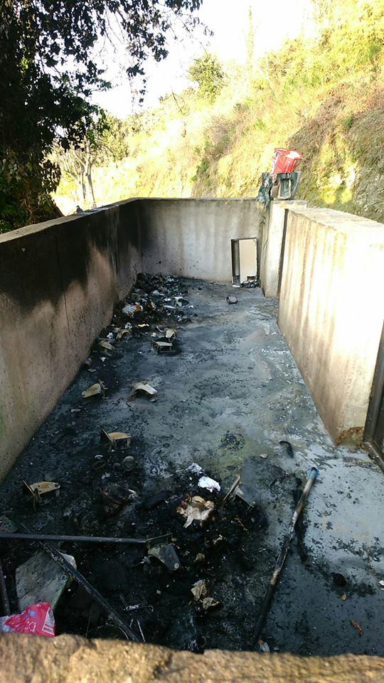 Des bacs incendiés sur les communes d'Olmo et de Monte