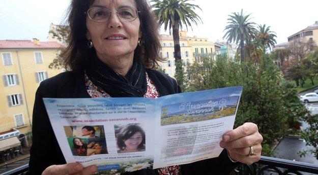 """Mylène Jacquet (association Savannah) : """"Il est important de faire ouvrir les yeux au Gouvernement sur les sévices que subissent les femmes"""""""