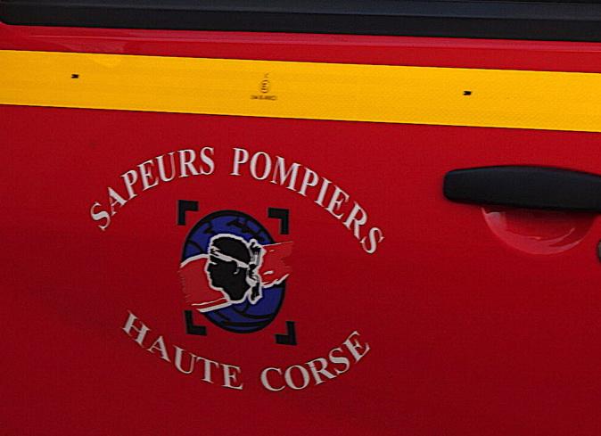 Loretu-di-Casinca : Une voiture tombe en contrebas de route