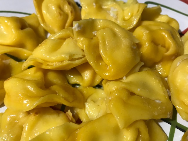 A Table : Les tortelloni au brocciu de Louise