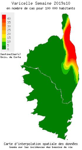 Corse : La grippe s'en va, gastro et varicelle résistent!