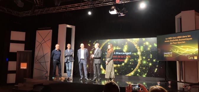 Orange et CAPA accélèrent sur la fibre dans les zones d'activités économiques du Pays Ajaccien