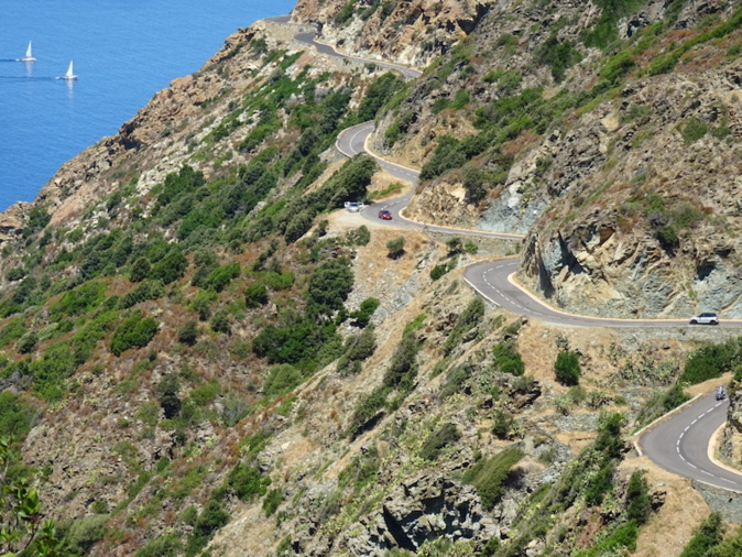 La photo du jour : Sur les routes du Cap Corse