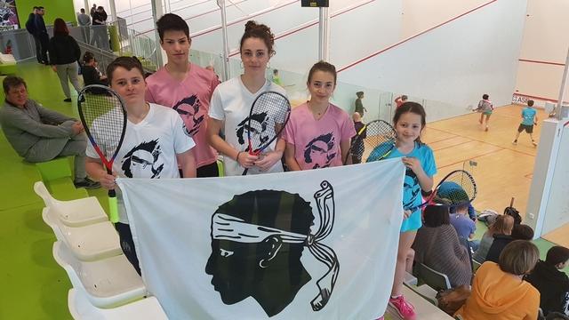 Des résultats prometteurs pour les jeunes du Squash Ile-Rousse à Chartres
