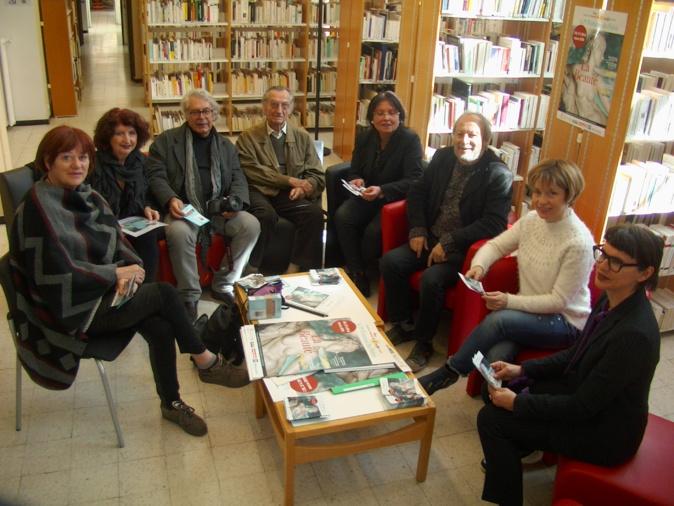 """Toute l'équipe de """"Une minute de soleil en plus"""" a présenté la 21ème édition du printemps des poètes"""