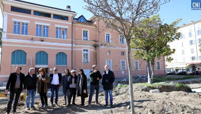 Ajaccio : La place Campinchi retrouve son âme méditerranéenne