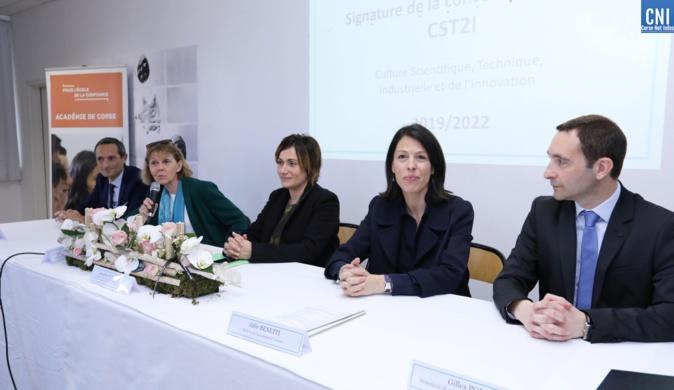 Collectivité de Corse, Etat et Académie unis pour promouvoir la culture scientifique