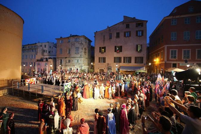 A Notte di a Memoria di Bastia et I Mercatini del seicento de Bassano-Romano : Jumelage effectif
